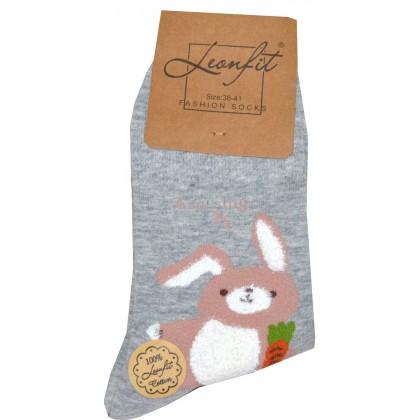 Детски чорапи ЗАЙЧЕ 36-39 номер КОД 04.