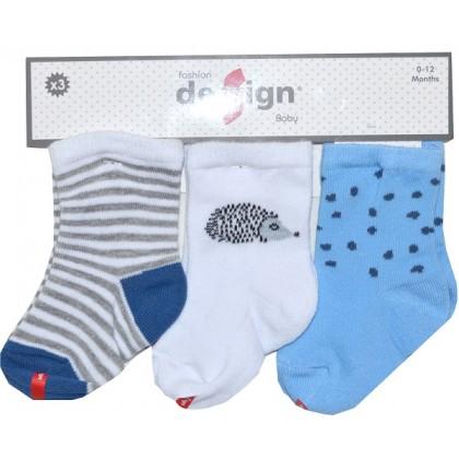 Бебешки чорапи 0-12 месеца.