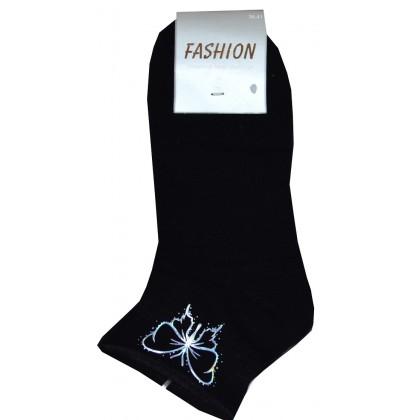 Дамски чорапи ПЕПЕРУДА 36-41 номер в черно.