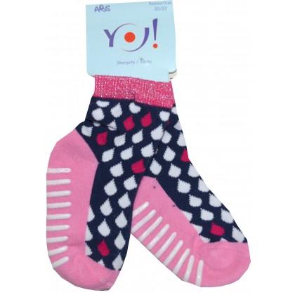 Детски чорапи КАПКИ 20-30 номер.