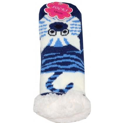 Термо чорапи КОТЕ 22-23 номер в тъмно синьо.