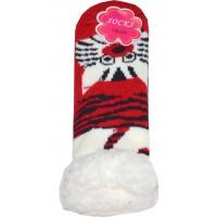 Термо чорапи КОТЕ 22-23 номер в червено.