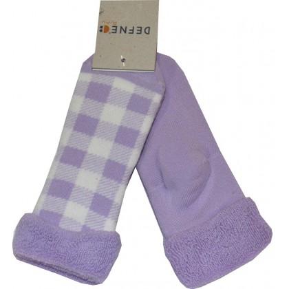 Термо, детски чорапи ЛИЛАВИ 2 БРОЯ 18-21 номер.