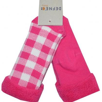 Термо, детски чорапи ЦИКЛАМЕНИ 2 БРОЯ 21-22 номер.