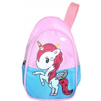 Детска чанта ЕДНОРОГ в розово.