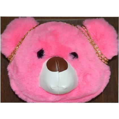 Детска чанта МЕЧЕ в розово.