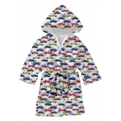 Детски халат за баня КОЛИ 8-9 години.