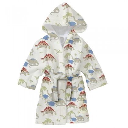 Детски халат за баня ДИНО 2-8 години.