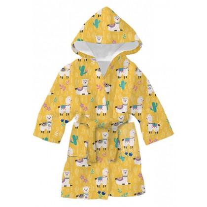 Детски халат за баня ЛАМА 4-8 години.