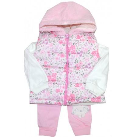Бебешки комплект ЦВЕТЯ от 3 части 3-12 месеца.