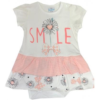 Бебешко боди рокля 3-12 месеца.
