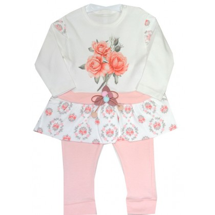 Бебешки комплект РОЗИ 0-12 месеца.