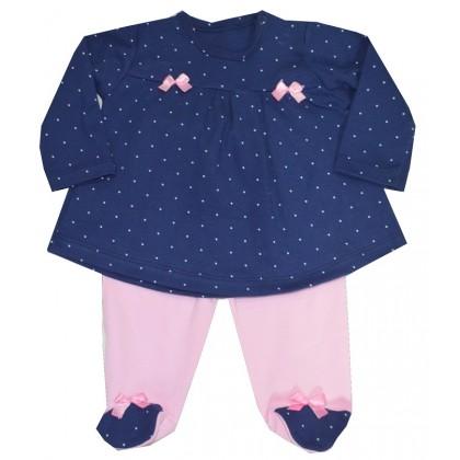 Бебешки комплект ТОЧКИ 0-3 месеца.