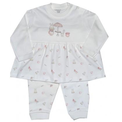 Бебешки комплект ЗАЙЧЕ 0-9 месеца.