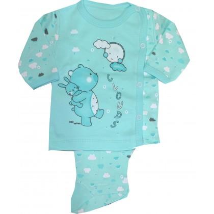 Бебешки комплект МЕЧО 0-3 месеца в резида.