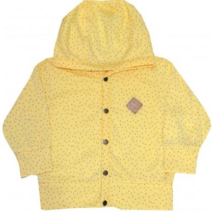 Детска жилетка МОРИСИМО 74-86 ръст в жълто.