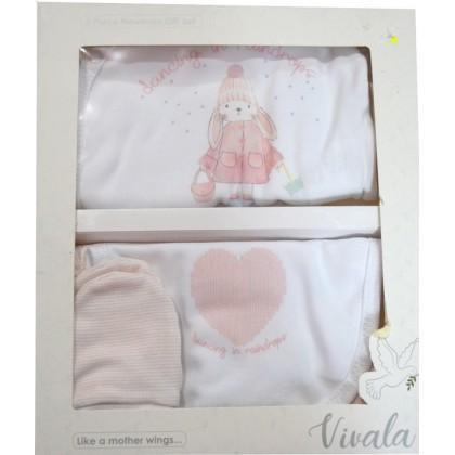 Луксозен бебешки комплект за изписване.