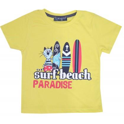 Детска блуза СЪРФ 86-104 ръст в жълто.