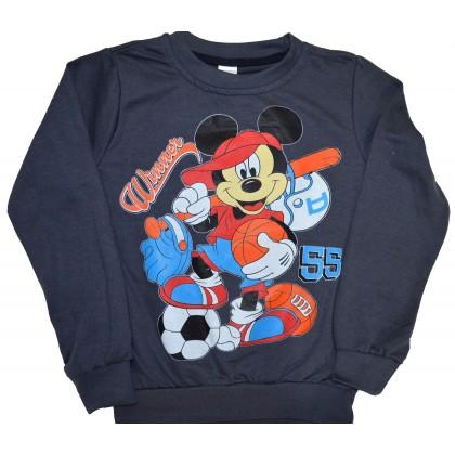 Детска блуза МИКИ МАУС 86-104 ръст в графит.