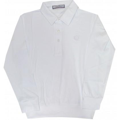 Детска блуза БЯЛА 7-11 години.