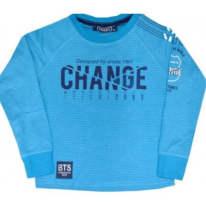 Детска блуза CHANGE 80-104 ръст в синьо.