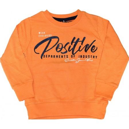 Детска блуза POSITIVE 80-104 ръст в оранжево.