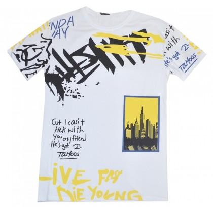 Юношеска блуза MASTIFF 16 години в бяло КОД 01.