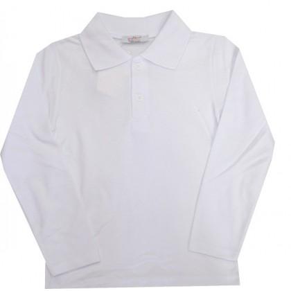 Детска блуза БЯЛА УНИФОРМА ЗА УЧИЛИЩЕ 6-13 години.