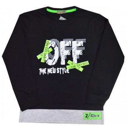 Юношеска блуза OFF 7-11 години.