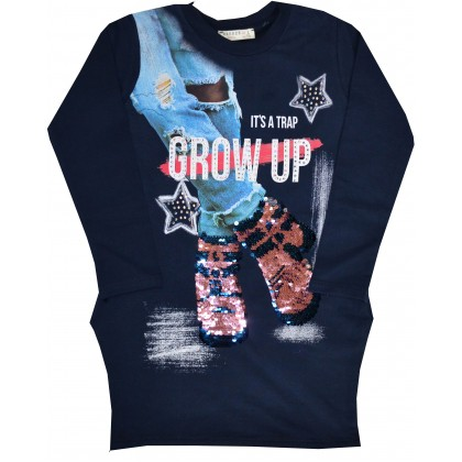 Детска туника-рокля BREEZE CROW UP 116-152 ръст.