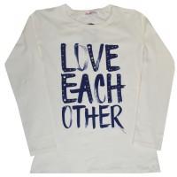 Детска блуза LOVE 8-15 години.