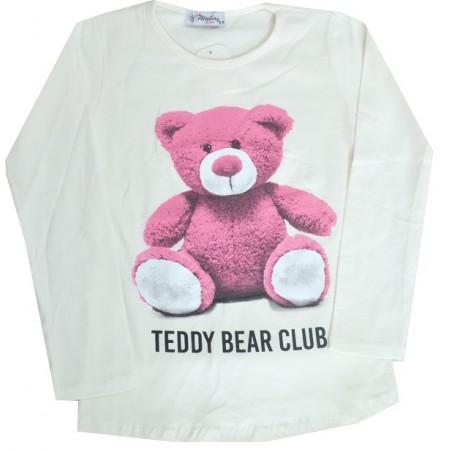 Детска блуза МЕЧЕ 8-11 години в екрю.