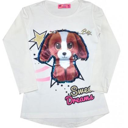 Детска блуза КУЧЕ 3-6 години.