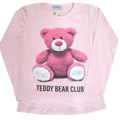 Детска блуза МЕЧЕ 8-11 години в розово.