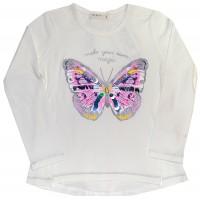 Детска блуза ПЕПЕРУДА 98-128 ръст BREEZE.