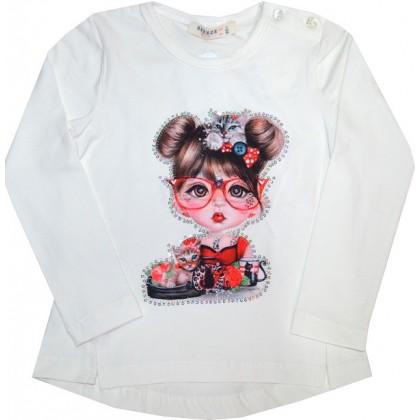 Детска блуза МОМИЧЕ 92-116 ръст BREEZE.