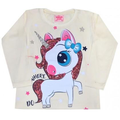 Детска блуза МАЛКО ПОНИ 80-104 ръст.