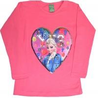 Детска блуза АЕ 2-5 години в розово.