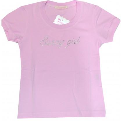 Детска блуза ВЕНЕРА 104-116 ръст в розово.