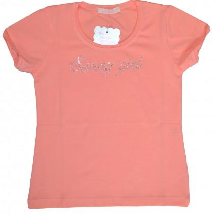 Детска блуза ВЕНЕРА 104-116 ръст в прасова.