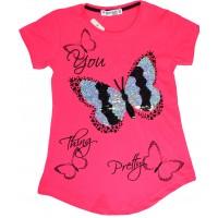 Детска блуза ПЕПЕРУДА 128-164 ръст.
