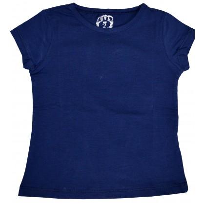 Детска блуза ТЪМНО СИНЯ 2-5 години.