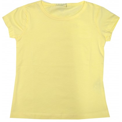 Детска блуза ЖЪЛТА 2-5 години.