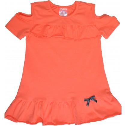Детска блуза МАРИЕЛА 104-116 ръст в оранжево.