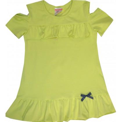 Детска блуза МАРИЕЛА 104-116 ръст в зелено.
