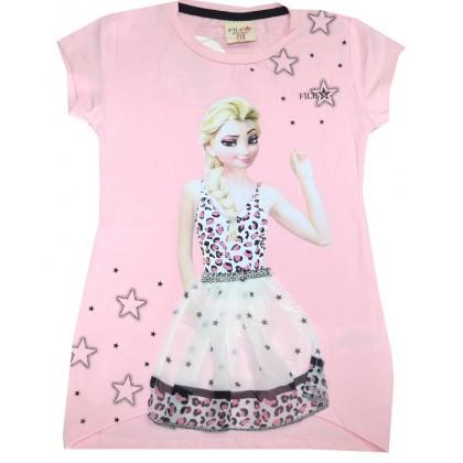 Детска блуза АЕ 4-7 години в розово.