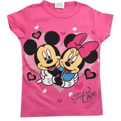 Детска блуза ММ 2-4 години в розово.