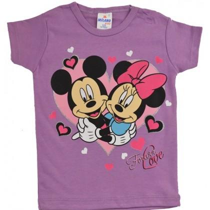 Детска блуза ММ 1-4 години в лилаво.