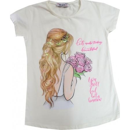 Детска блуза КОКЕТКА 8-11 години.
