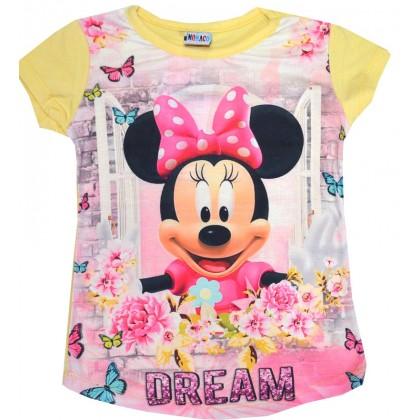 Детска блуза ММ 3-6 години в жълто.